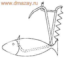 Как сделать капкан на щуку чертежи