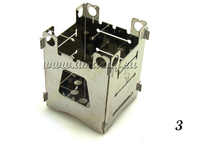 Походная мини-печь-щепочница Биохит Т10