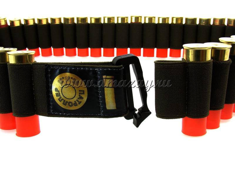 Эластичная патронная лента — бандольера «Патроллер» на 51 патрон 12, 16 или 20 калибра