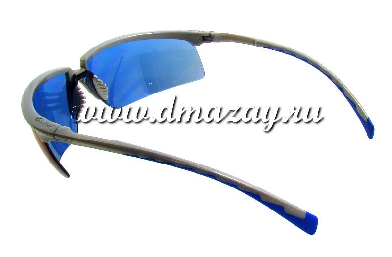 Очки защитные стрелковые PELTOR SOLUS с СИНИМИ зеркальными линзами