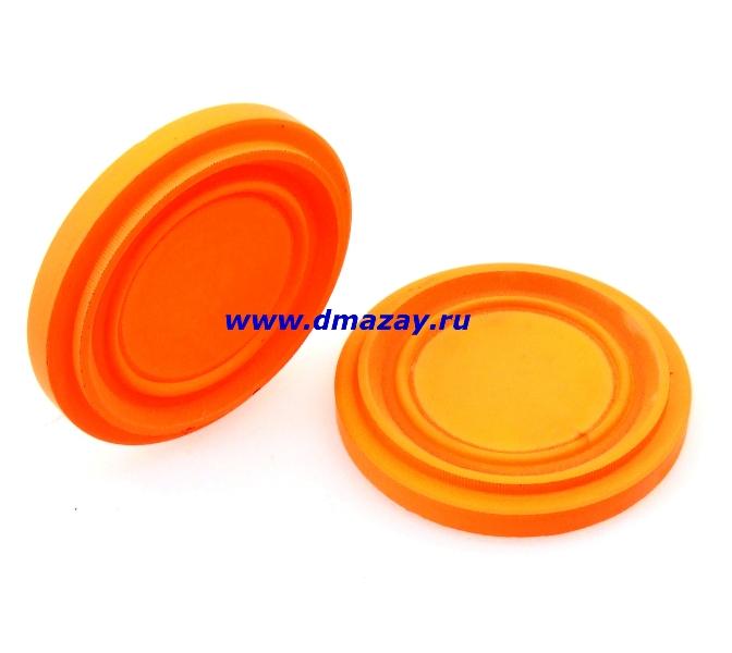 Тарелочки Nasta (Наста) Q Line Rabbit F мишени, targets для для запуска по траектории заяц (Rabbit, кролик) оранжевые 200 штук