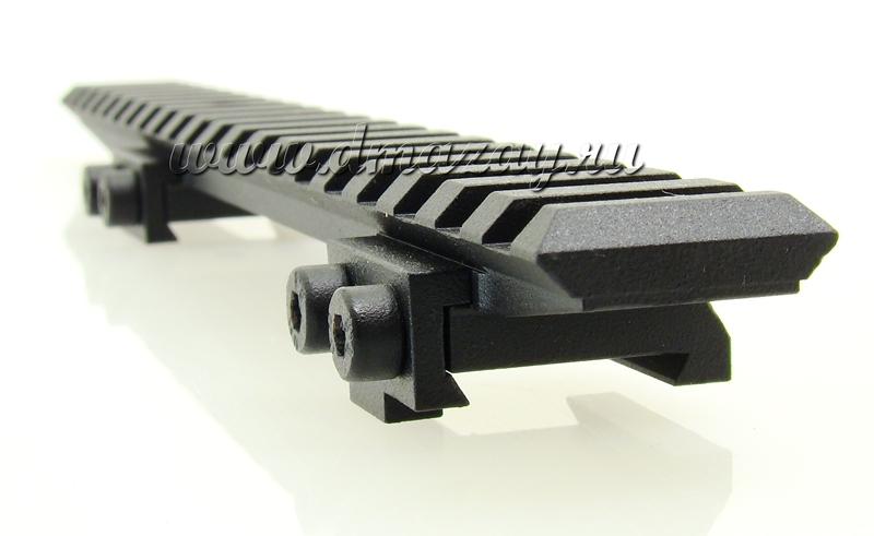 База (кронштейн, крепление к оптике) с планкой ВИВЕРА (WEAWER) к винтовке CZ 550
